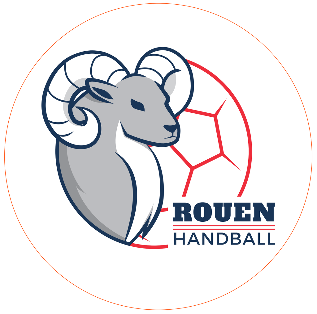 Stickers Rouen Handball